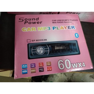 SOUND POWER CAR MP3 PLAYER WITH RADIO RECEIVER
