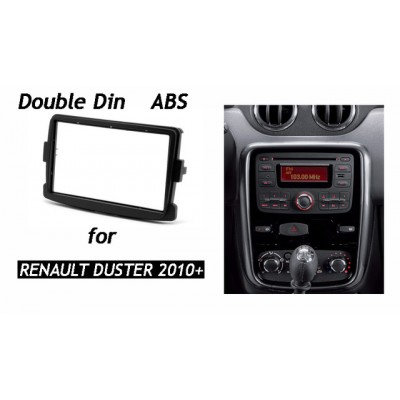 Double Din Car Stereo Frame for Captiva and coupler duster 2012 model