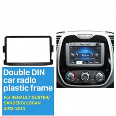 Double Din Car Stereo Frame for RENAULT DUSTER/SANDERO/LOGAN(2012-2014)