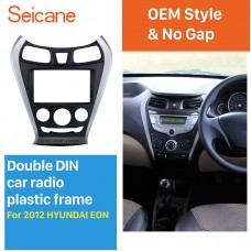 Double Din Car Radio Fascia for 2012 HYUNDAI EON