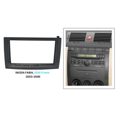 Double Din Frame for hyundai verna  fluidic 2011