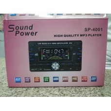 Soundpower double din audio player