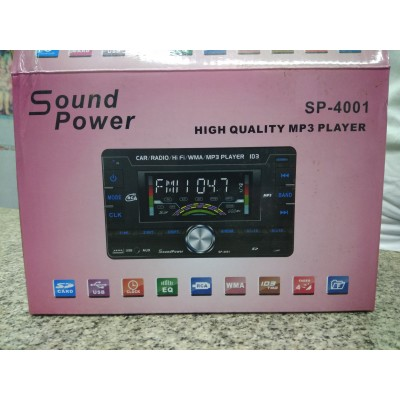 Soundpower double din player