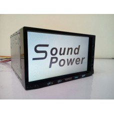 Sound power double din stereo