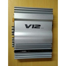 v 12- 2 CHANNEL high perfomance amplifier 3600 watts