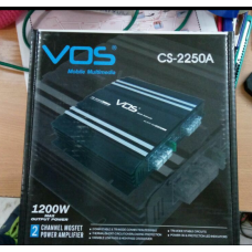 VOS 2-Channels High Performance Amplifier