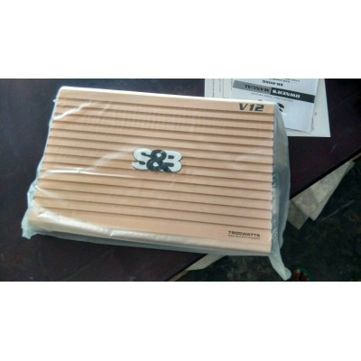 S&B 4 channels high performance Amplifier