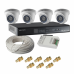 ojo 1 mp camera with 8 channel smps and cp plus cosmic 8 channel dvr