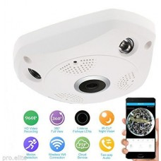 Ceiling fixed ip camera HD wifi SD Card slot Mic live view