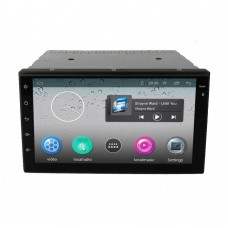 Universal Android double din car stereo with GPS for all car