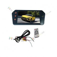 CLOTOY REAR VIEW MIRROR ( 2 pic) + (1 pic) led camera
